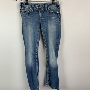 Silver Jeans Women's 27 x 27 Tuesday Skinny Jeans